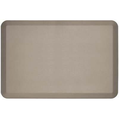 Professional Grade Comfort Kitchen Mat Mat Size: 2 x 3, Color: Stone