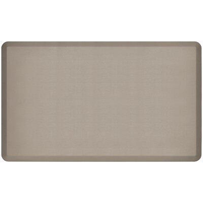 Professional Grade Comfort Kitchen Mat Mat Size: 3 x 5, Color: Stone