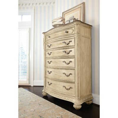 Spencerville 6 Drawer Chest Color: White