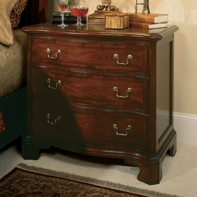 Staas 3 Drawer Bachelors Chest