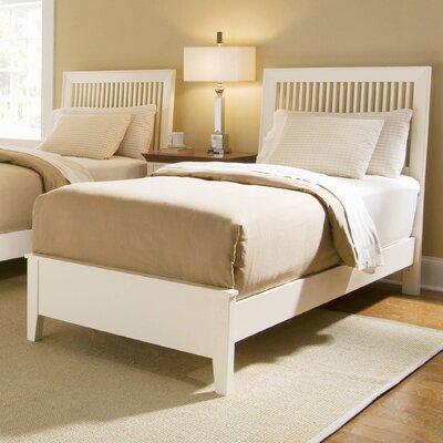 Cheap Sterling Pointe Twin Slat Bed in White (WW2559)
