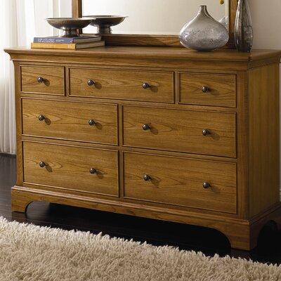 Syden 7 Drawer Standard Dresser/Chest Color: Nutmeg