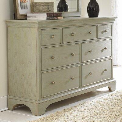 Syden 7 Drawer Standard Dresser/Chest Color: Sage