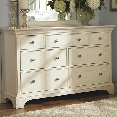 Syden 7 Drawer Standard Dresser/Chest Color: Seasalt