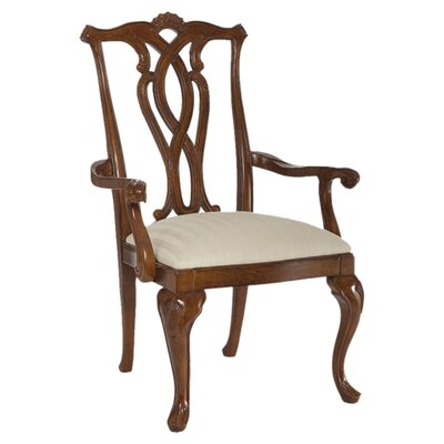 Staas Pierced Back Arm Chair (Set of 2)