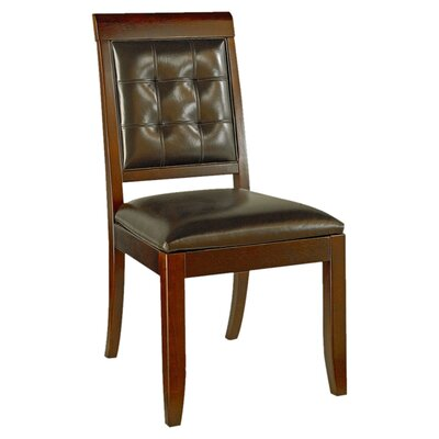 Sammi Genuine Leather Upholstered Dining Chair (Set of 4)