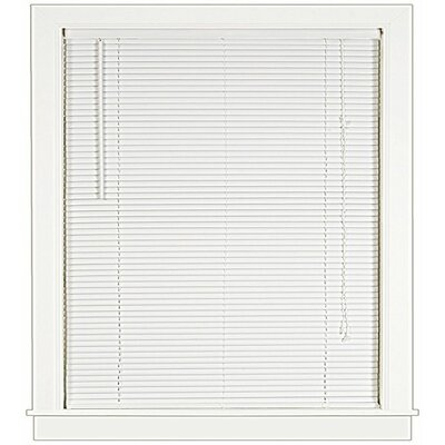 Semi-Sheer Horizontal/Venetian Blind Blind Size: 24W x 64L, Color: White