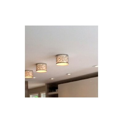 Contemporary 9 Metal Drum Recessed Light Shade