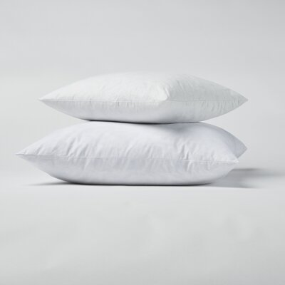 Down and Feathers Pillow Size: 26 x 26