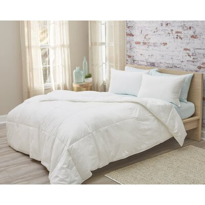 Lightweight Down Alternative Comforter Size: Queen