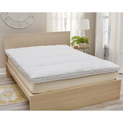 Downtop 6 Feather Mattress Topper Bed Size: Full/Queen