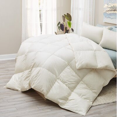 LanaDown All Season Duvet Insert Size: King