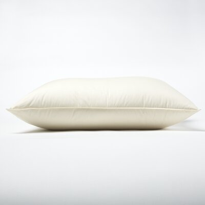 230 Thread Count Organic Down Pillow Size: Standard