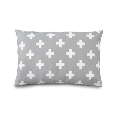 Cross Cotton Boudoir Pillow