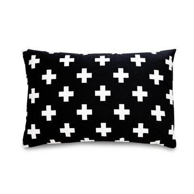 Cross Cotton Lumbar Pillow