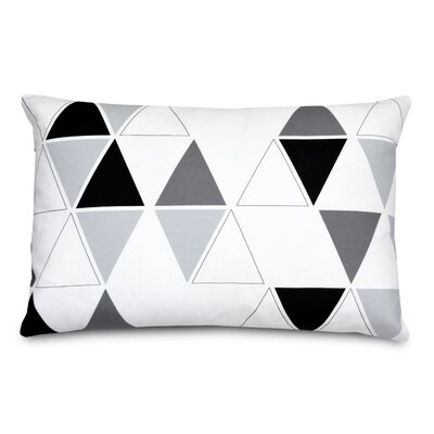 Triangle Linen Lumbar Pillow