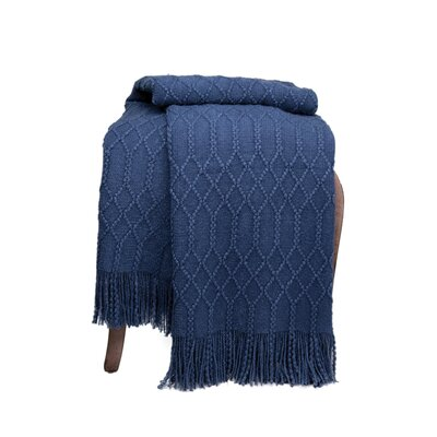 Florence Woven Throw F347 BL