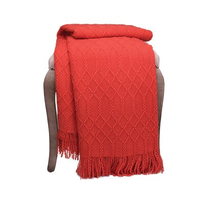 Florence Woven Throw F347 OR