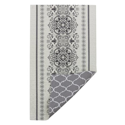 One-of-a-Kind Tashia White/Gray Area Rug