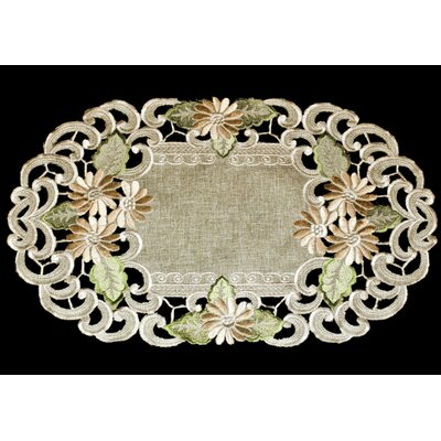 Calderwood Latte Embroidery Placemat
