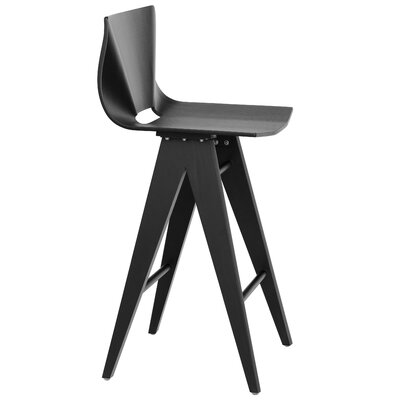 V 25.5 Bar Stool Color: Black