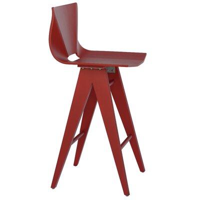 V 25.5 Bar Stool Color: Red