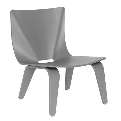 V Lounge Chair Finish: Gray