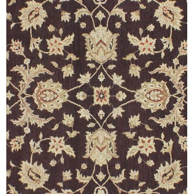 Xenos Hand-Knotted Wool Brown/Rust Area Rug