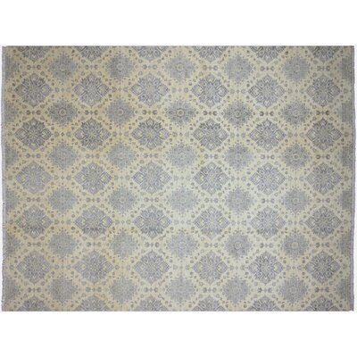 Xenos Hand-Knotted Light Blue Area Rug