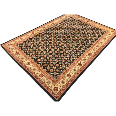 Xenos Hand-Knotted Wool Brown Indoor Area Rug