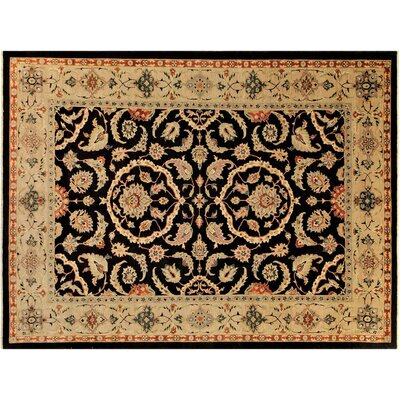 Badham Hand-Knotted Wool Brown/Tan Area Rug
