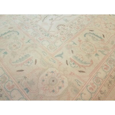 Xenos Hand-Knotted Wool Ivory Indoor Area Rug