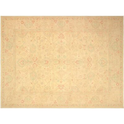 Pictor Hand-Knotted Wool Ivory/Tan Area Rug