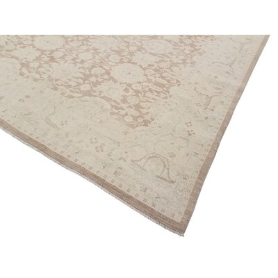 Xenos Hand-Knotted Wool Light Brown/Tan Area Rug