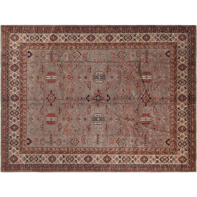 Baldwin Park Hand-Knotted Wool Gray/Tan Area Rug