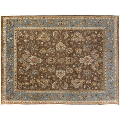 Xenos Hand-Knotted Wool Brown/Gray Area Rug