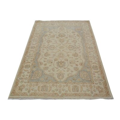 Xenos Hand-Knotted Wool Ivory Area Rug