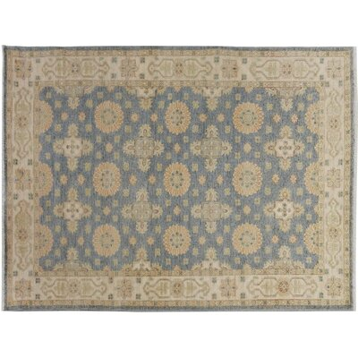 Xenos Hand-Knotted Wool Gray/Tan Area Rug