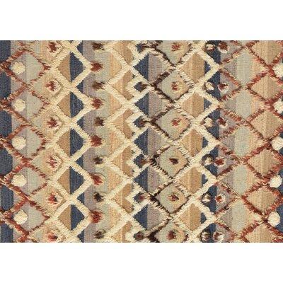 Kimberlee Moroccan Hand-Woven Wool Gray/Ivory Area Rug