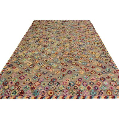 One-of-a-Kind Kimberlee Moroccan Hand-Knotted Wool Tan Area Rug