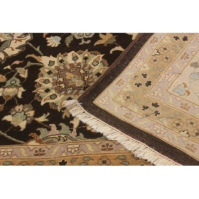 Ernesto Hand-Knotted Wool Brown/Tan Area Rug