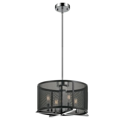 Aliya 4-Light Drum Chandelier