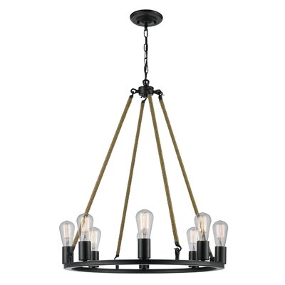 Myrcella 8-Light Candle-Style Chandelier
