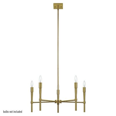 Barbara 5-Light Candle-Style Chandelier