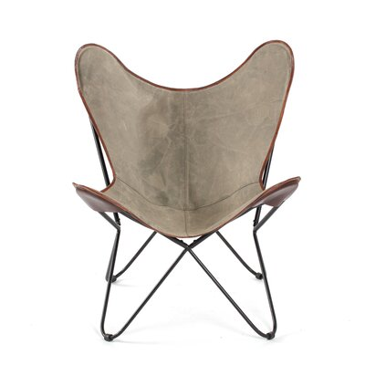 Cammi Iron Butterfly Lounge Chair