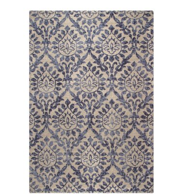 One-of-a-Kind Belfort Blue/Brown Area Rug Rug Size: Rectangle 311 x 511
