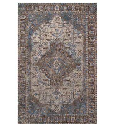 One-of-a-Kind Perillo Montpellier Brown Area Rug Rug Size: Rectangle 311 x 511