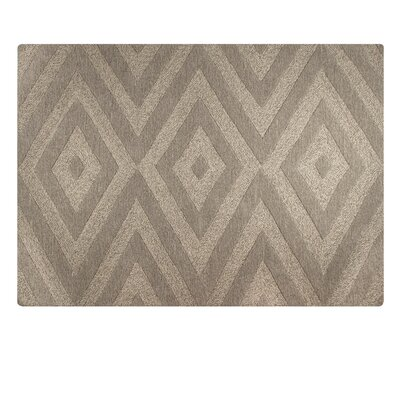 One-of-a-Kind Toulon Hand-Tufted Brown Area Rug Rug Size: Rectangle 57 x 76
