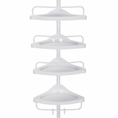 35 x 305 cm Badregal Annabelle | Bad > Badmöbel > Badregale | Weißelfenbeinbeige | Kunststoff | Belfry Bathroom