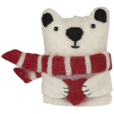 Polar Bear Hanging Figurine THLY1267 44004378